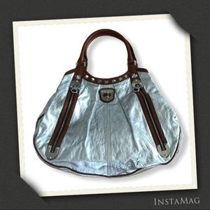 ALEXANDER MCQUEEN Vintage Silver Hobo Bag